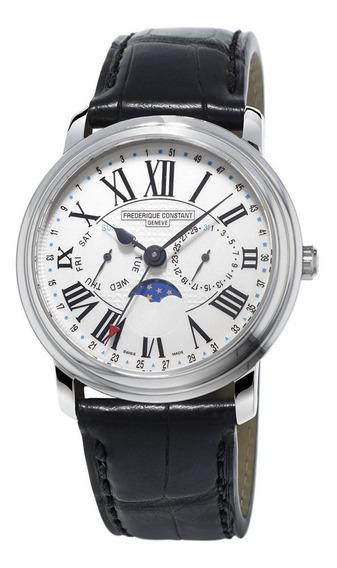 Reloj Frederique Constant Fc-270m4p6 Para Caballero Correa De Piel