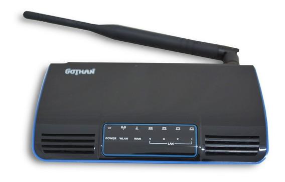 Modem Roteador Wireless Gothan 150mbps Gwr-100 5dbi