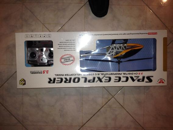 Helicoptero A Control Remoto Space Explorer