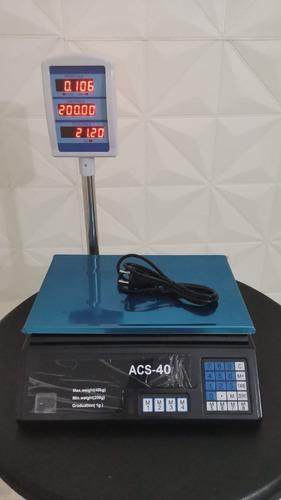 Balanza 40 Kg Digital Electronica A Bateria Y Corriente