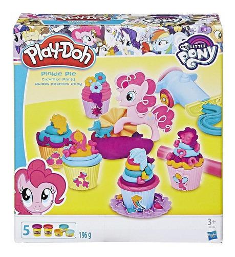 Play-doh Pony Pinkie Fiesta De Pastelitos B9324 Hasbro Edu
