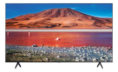 Imagem 1 de 7 de Tv Samsung 4k Com Comando De Voz