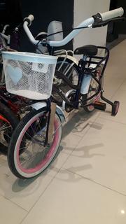 Bicicleta Peretti Rod16 Playera Dama Completa Lila