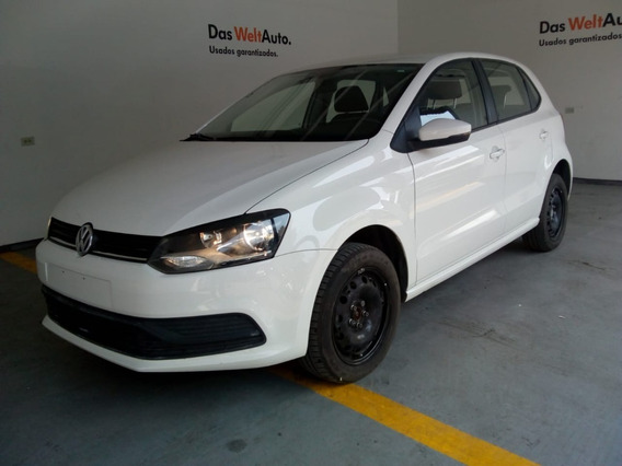 Volkswagen Polo Starline 2019 Std , 19,256 Km Blanco 5 P