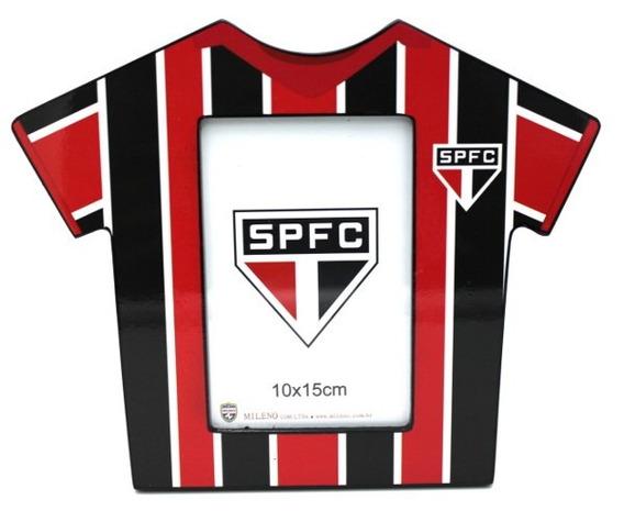 Porta Retrato Camisa Futebol Foto 10x15 Cm - São Paulo