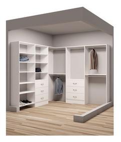 Projeto Móveis Planejados Closet | 3d | Plano De Corte