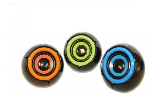 Imagen 1 de 1 de Bocina Usb Myo Mini-speaker 2.0, 3.5mm Conexiãn De Audio