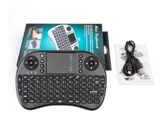 Mini Teclado Air Mouse Sem Fio Tv Wireless Com Led Promoção!