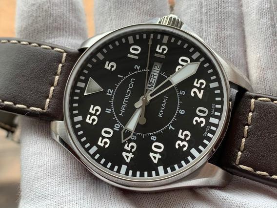 Relógio Hamilton Khaki Pilot Quartz H64611535