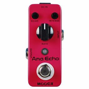 Pedal De Guitarra Delay Analógico Mooer Ana Echo - Envio 24h