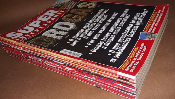 Lote 14 Revistas Superinteressante - Físicas (papel)