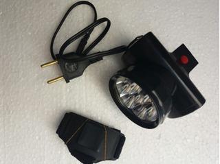 Lanterna De Cabeça Recarregável 7 Led Alto Brilho