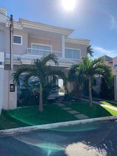 Casa Com 3 Dormitórios À Venda, 280 M² Por R$ 1.550.000,00 - Campo Grande - Rio De Janeiro/rj - Ca1621