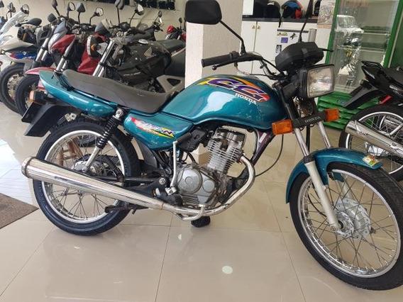 Honda Cg 125 Titan 2000 Verde Raridade 59000 Km