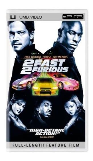 2 Fast 2 Furious Psp Filme Playstation Portátil Original
