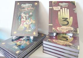 Livro O Diário Perdido De Gravity Falls + Lendas Perdidas