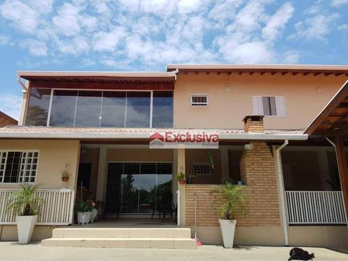 Chácara Com 3 Dormitórios À Venda, 1000 M² Por R$ 900.000,00 - Parque Da Represa - Paulínia/sp - Ch0044