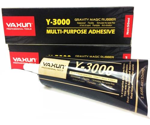 Pega Multiuso Yaxun Y-3000 Mica Tactil Celular Tablet 50 Ml