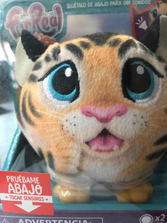 Furreal Hasbro Plushies Tigre Con Sensores Y Sonidos Kreker