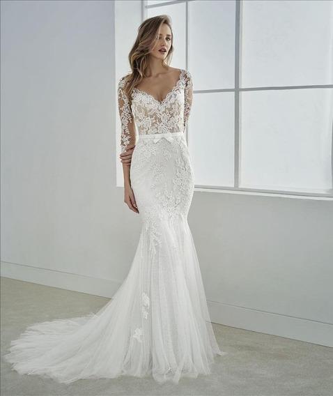 Vestido De Novia Fe White One By Pronovias
