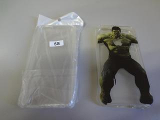 Case Capa Hulk Transparente iPhone 5 E 5s