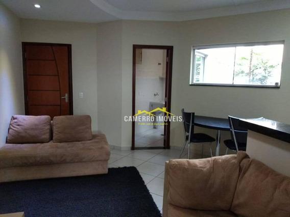 Casa Com 1 Dormitório Para Alugar, 45 M² Por R$ 980,00/mês - Cidade Nova Ii - Santa Bárbara D