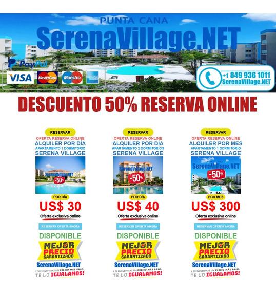 Alquiler Apartamento Serena Village Punta Cana Bavaro