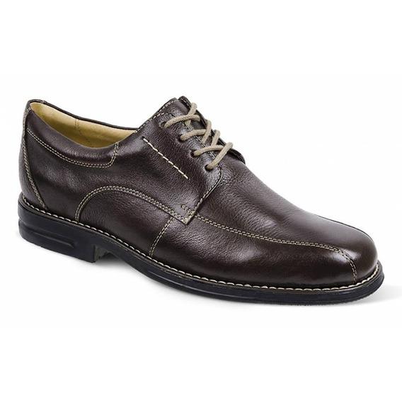 Sapato Social Masculino Derby Sandro Moscoloni Benson Marrom