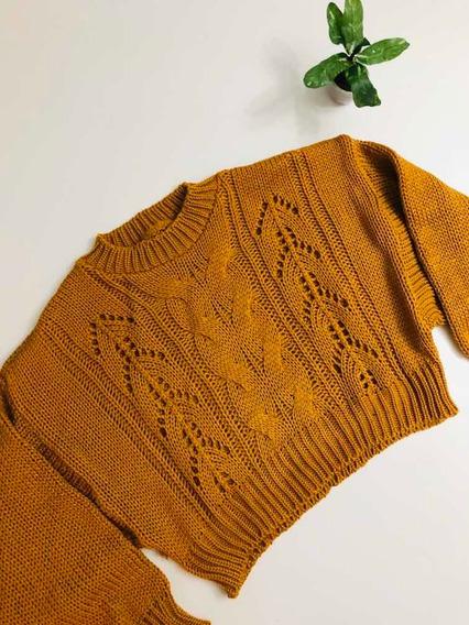 Sweater Corto Mujer