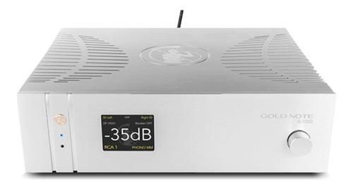 Amplificador Integrado Gold Note Is-1000 150w X 2 220v Stock