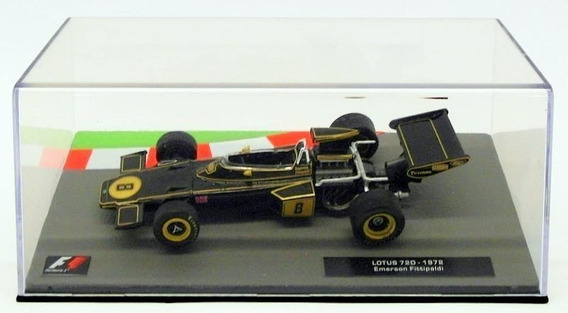 F1 Lotus 72d 1972 Emerson Fittipaldi 1/43 Altaya