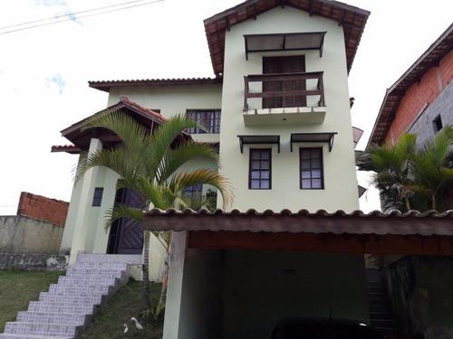 Sobrado Com 3 Dormitórios À Venda Por R$ 780.000,00 - Chácara Roselândia - Cotia/sp - So0062
