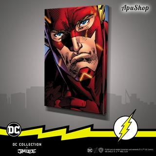 Cuadros 60x40 Dc Jim Lee Flash Liga Justicia Super Amigos