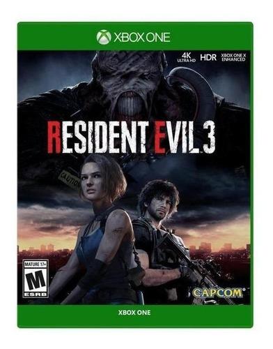 Imagen 1 de 4 de Resident Evil 3 Remake Capcom Xbox One  Físico