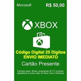 Vale Presente Microsoft R$ 50,00
