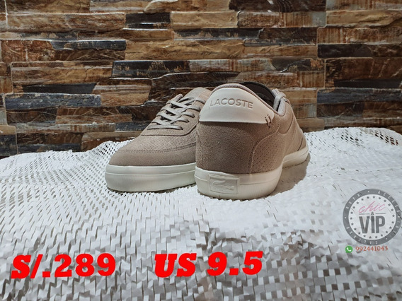 Lacoste Court Master Us 9.5 S/.289 Nike adidas Zara Guess