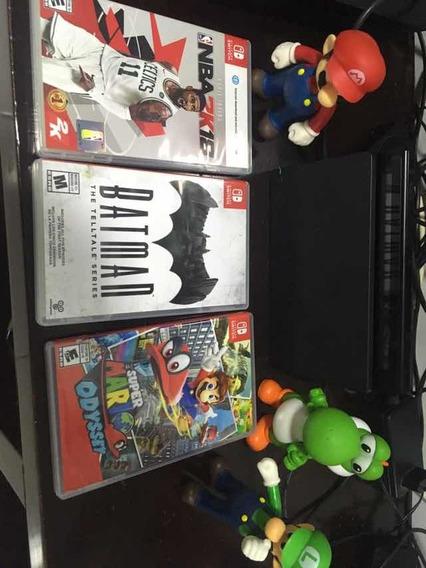 Nintendo Switch + 03 Jogos