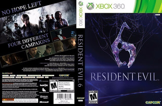Xbox 360 Resident Evil 6 Hd The Evil With In+ Slender