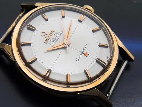 Relógio Ômega Constellation Nos 18k Maciço Espetacular