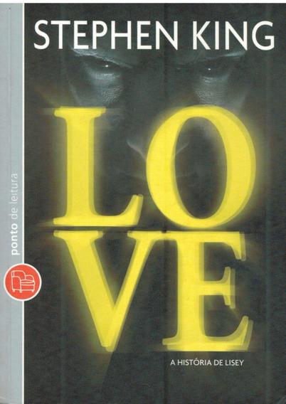 Love-a História De Lisey - Stephen King - Pague No Cartão