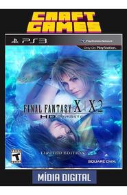 Final Fantasy X/x-2 Hd Remaster Ps3 Psn Envio Imediato