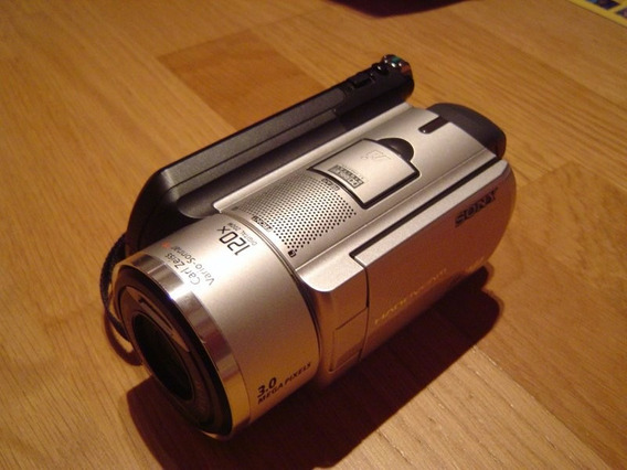 Sony Handycam Dcr-sr90e-camcorder-carl Zeiss-hard Disk 30gb