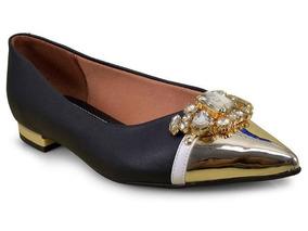 30307869938 Sapatilhas Bico Fino Com Pedraria Vizzano - Sapatos no Mercado Livre ...