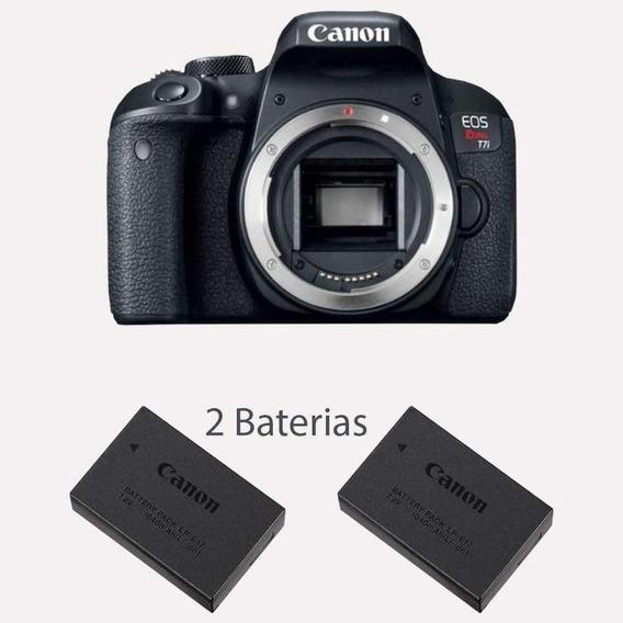 Câmera Canon Eos Rebel T7i Corpo+bateria