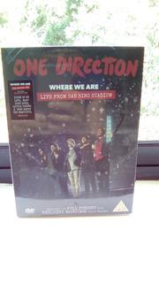 Dvd One Direction Where We Are Nuevo Y Sellado