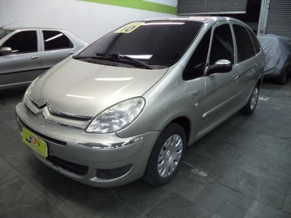 Citroën Xsara Picasso 1.6 Glx Flex Completa Couro 2010 Beje