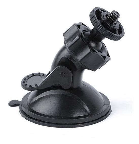 Suporte Camera Para Moto Carro Mini Ventosa C/ Regulagens