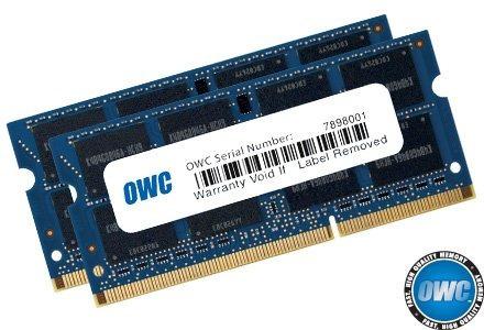 Owc 16gb (2x 8gb) 1333mhz Pc3-10600 Ddr3 So-dimm 204-pin Mem