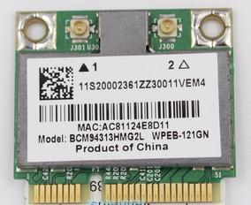 Placa Wireless Wi Fi Mini Pci Broadcom Bcm94313hmg2l 2.4 Ghz