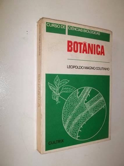 * Livro - Botanica - Leopoldo Magno Coutinho - Cultrix